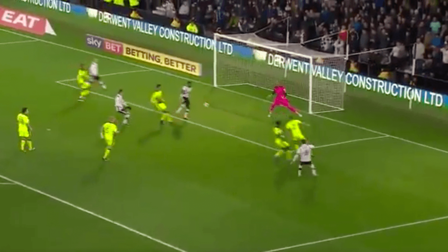 Darren Bent scores possibly the most painful goal ever scored