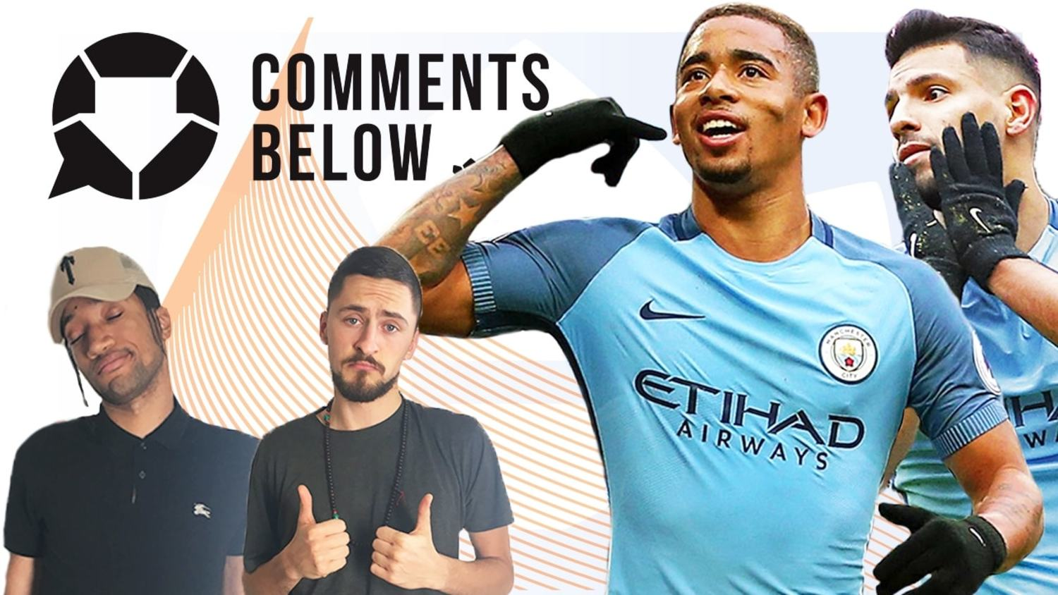 Will Gabriel Jesus Replace Aguero Up Front For Man City?