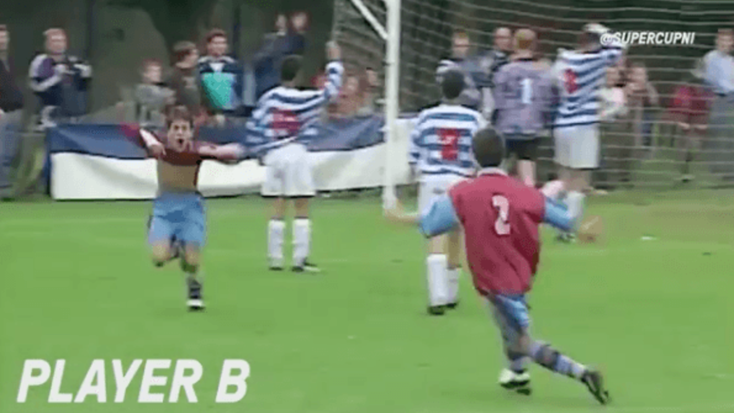 Can you name these goalscorers before they were famous?