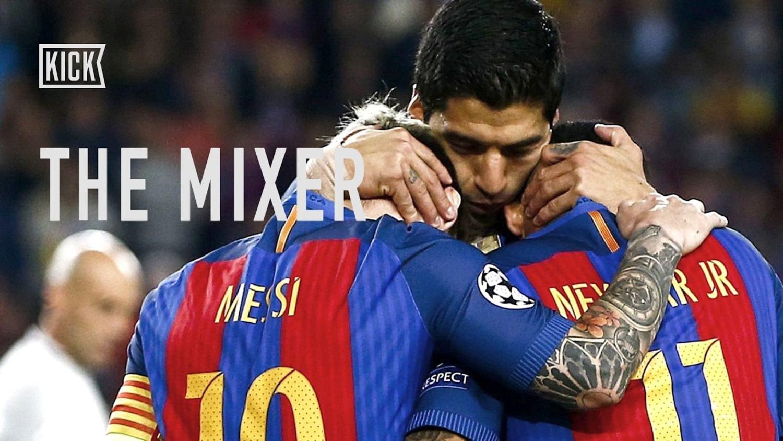 Messi, Suarez, Neymar- BFFs