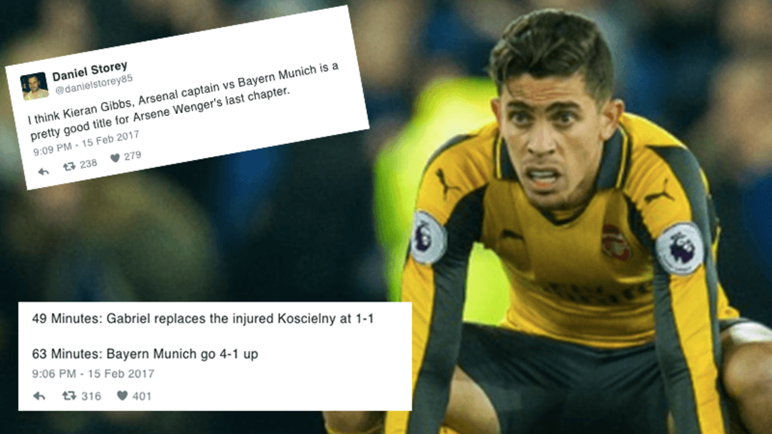 How the internet reacted to Bayern's demolition of Arsenal