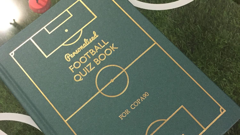 Copa90's Personalised Quiz Book
