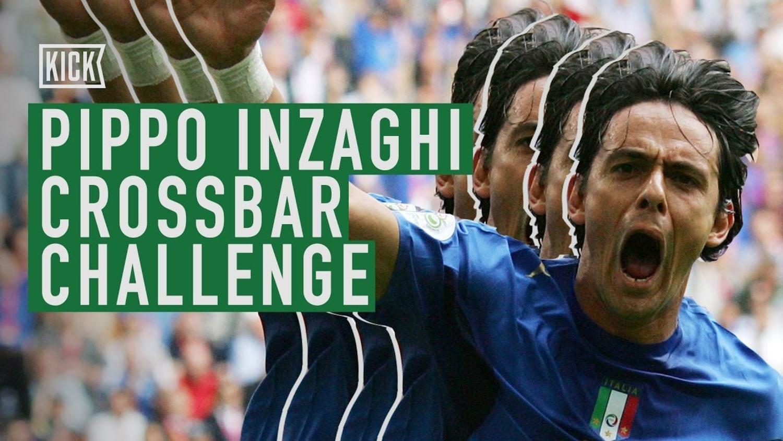 Filippo Inzaghi Crossbar Challenge