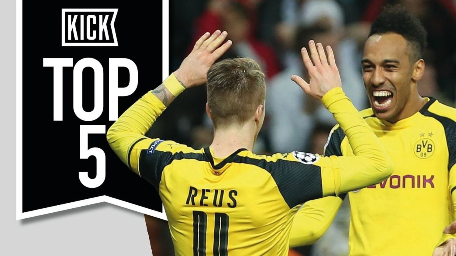Top 5 Outrageous High Scoring Champions League Matches