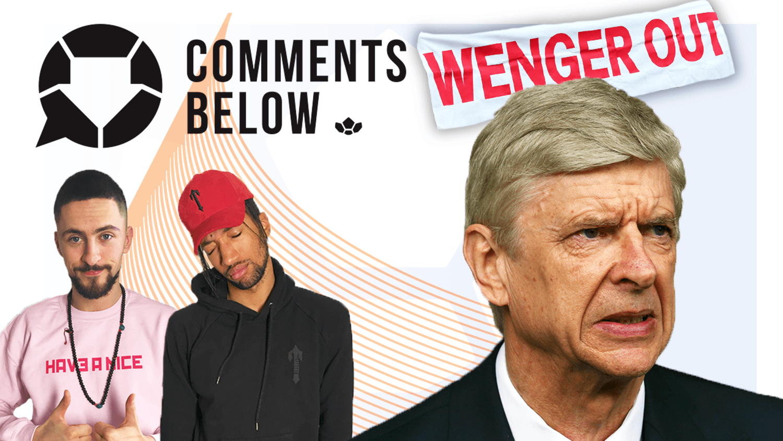 Arsenal and Arsene Wenger are in meltdown!