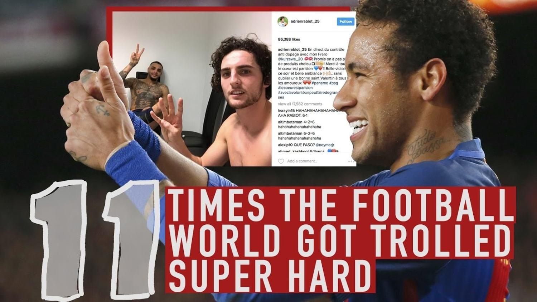 Neymar Destroying PSG and More Epic Trolls