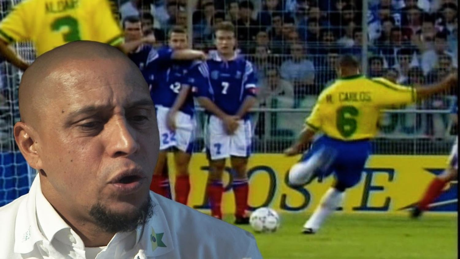 Exclusive: Roberto Carlos Reveals The Best Free Kick Taker Of All Time