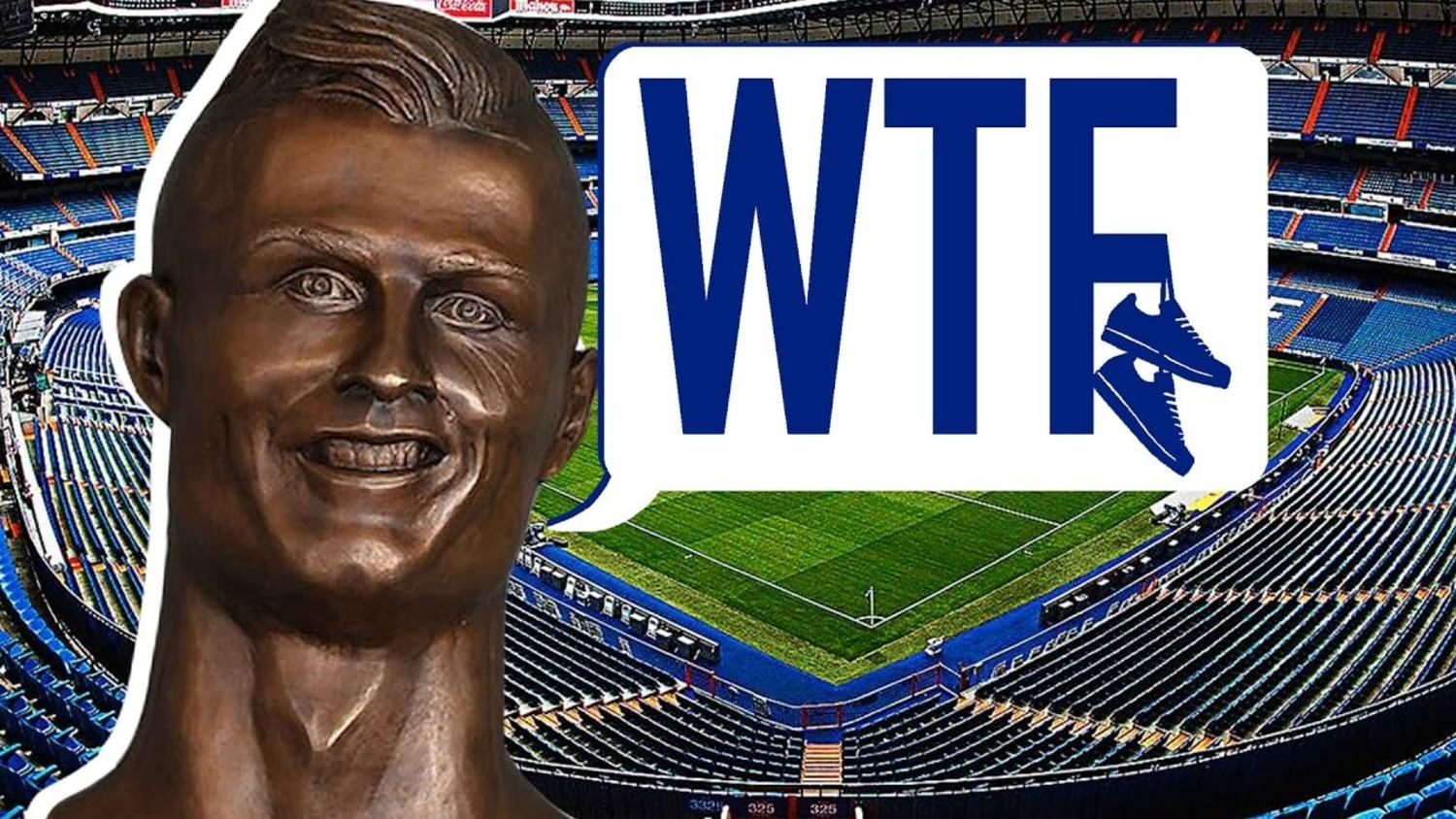 WTF Is Up With That Ronaldo Statue?