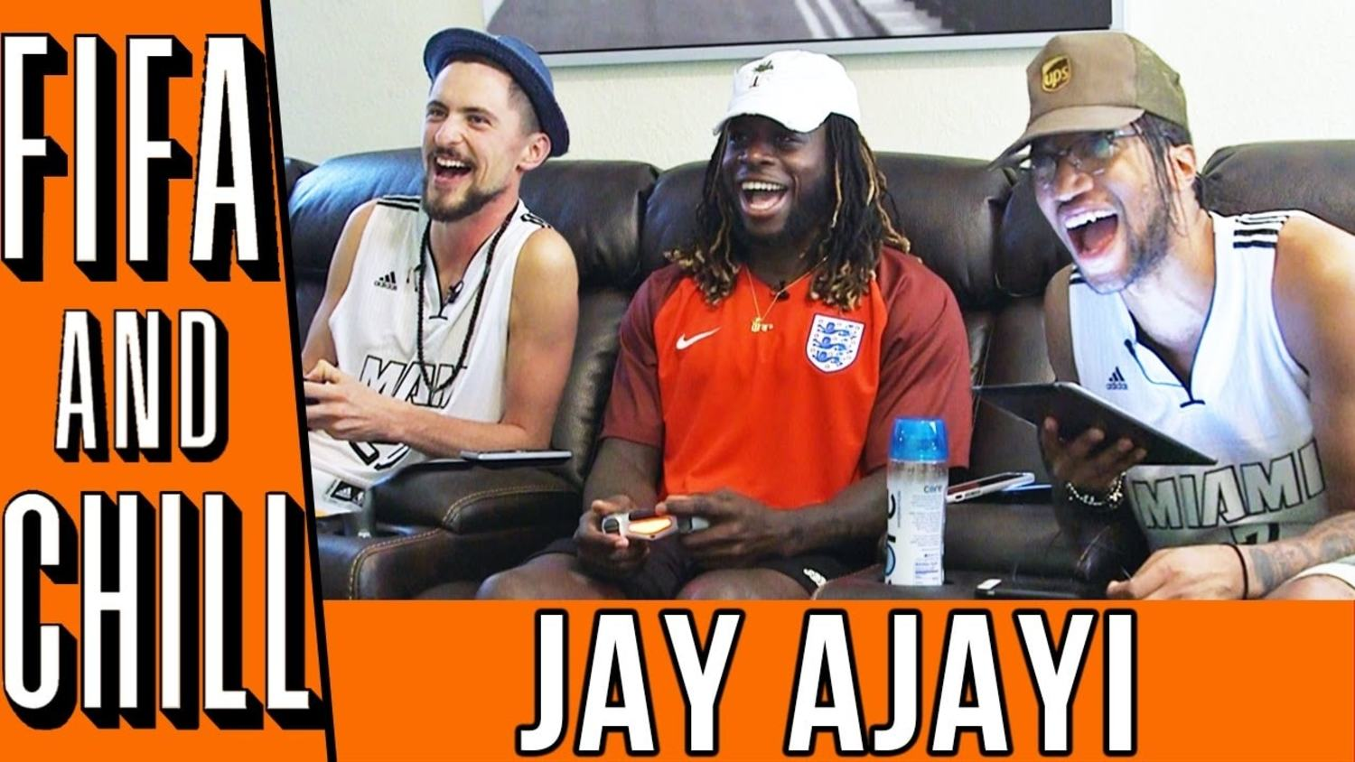FIFA and Chill with Jay Ajayi   Poet and Vuj Present!