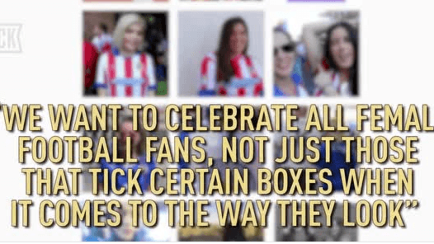 The Beautiful Game: This Fan Girl