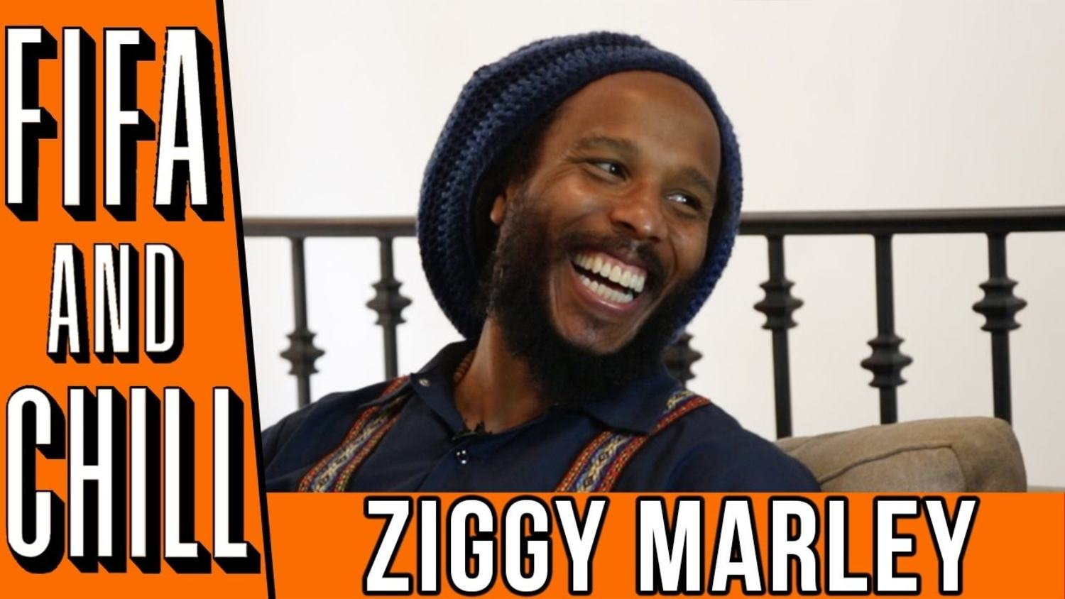 FIFA and Chill With Ziggy Marley | Poet & Vuj Present!