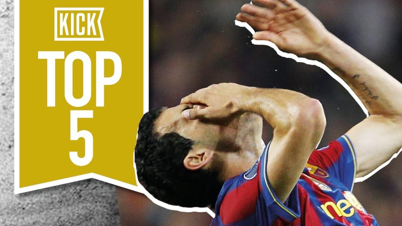 Top 5 Champions League Embarrassments
