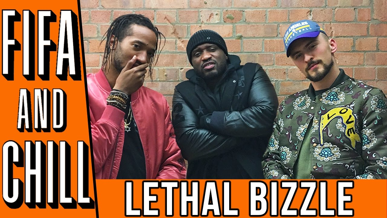 FIFA and Chill with Lethal Bizzle | Poet and Vuj Present