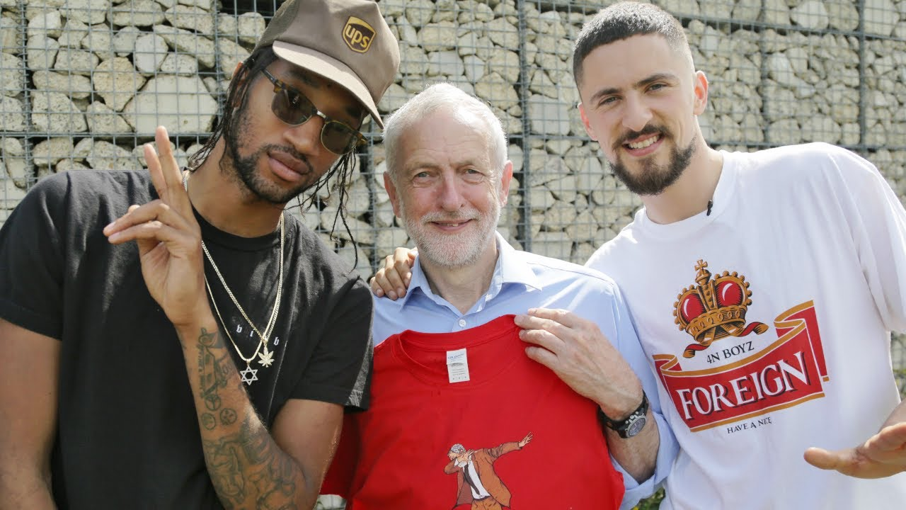 Jeremy Corbyn and Chill | Poet & Vuj Present!