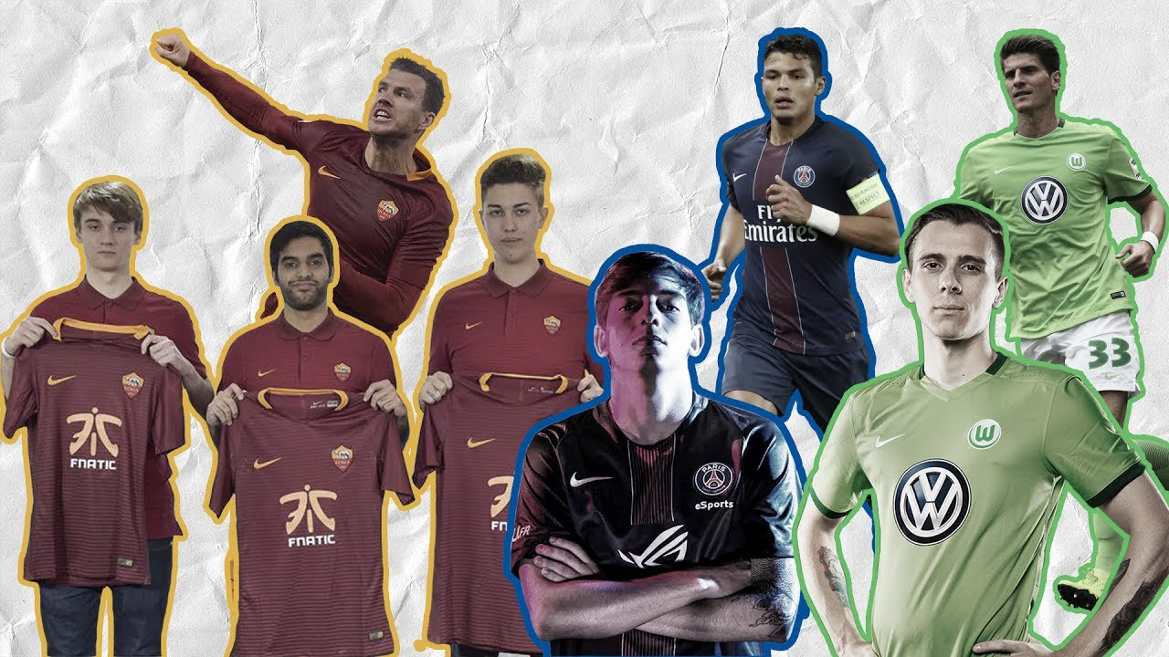 Why Clubs Like Roma, PSG, And Wolfsburg Are Signing FIFA Gamers