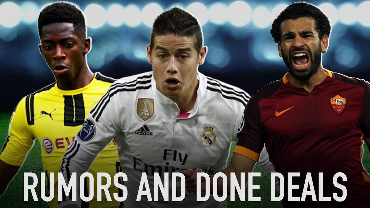 Dembele, James, Salah Headed For Massive Moves?