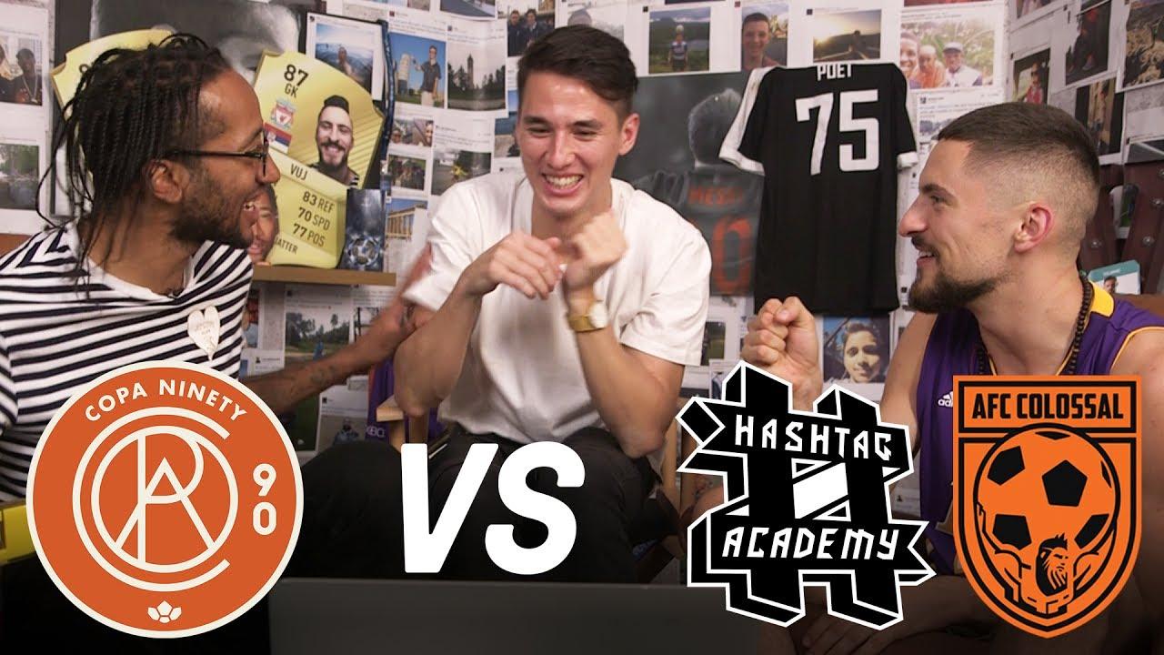 Copa90 FC vs Hashtag Academy & AFC Colossal! | Next Level Football League