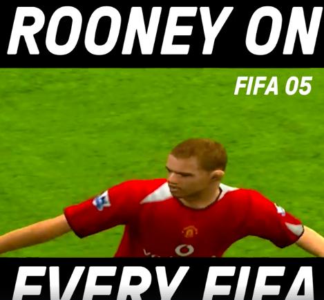 Wayne Rooney on Every FIFA