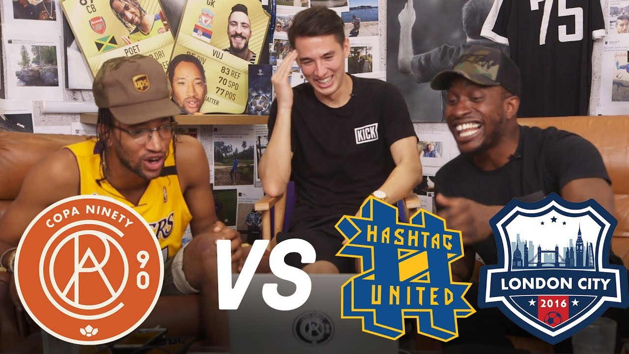Copa90 FC vs Hashtag United & London FC! | Next Level Football League