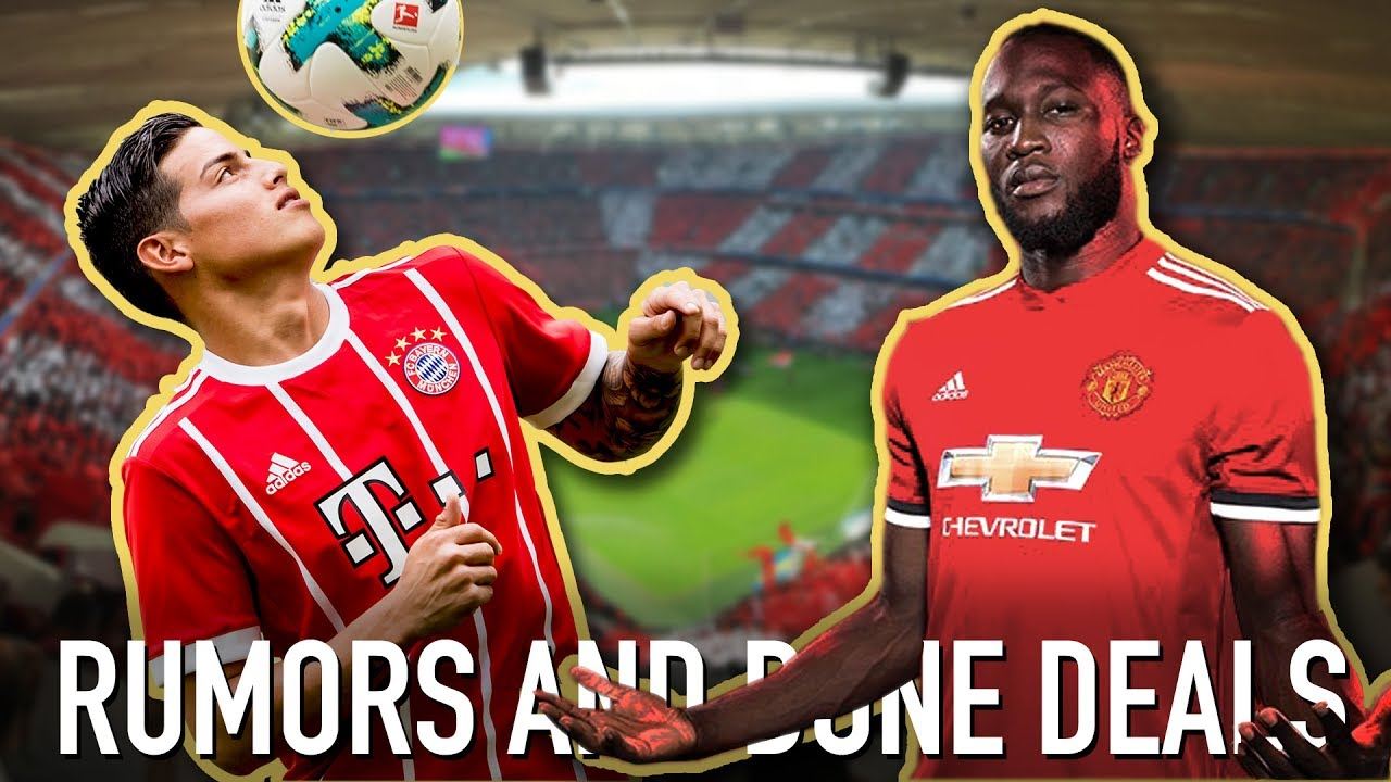 Lukak-who?? James Rodríguez To Bayern Is The Signing Of The Summer