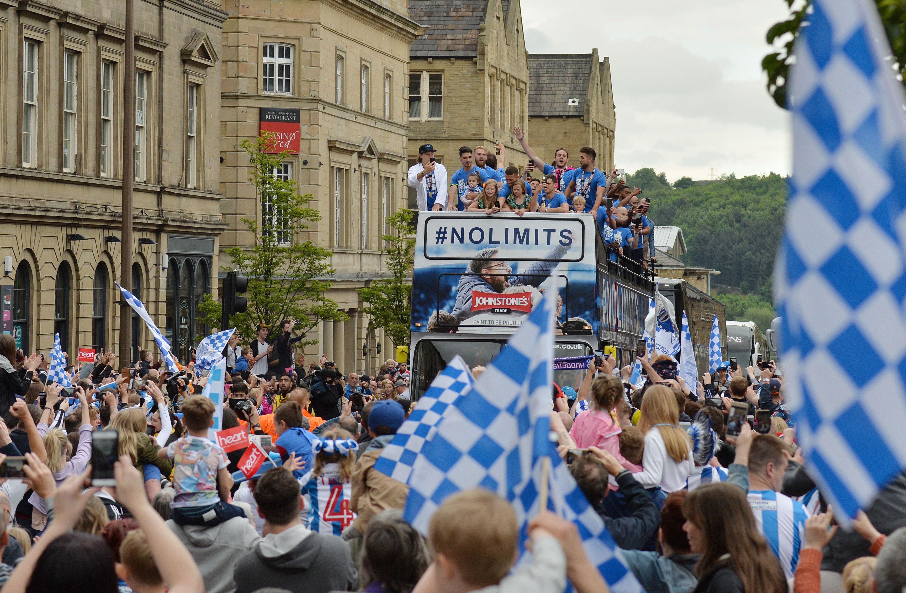 New Boys - Huddersfield Town