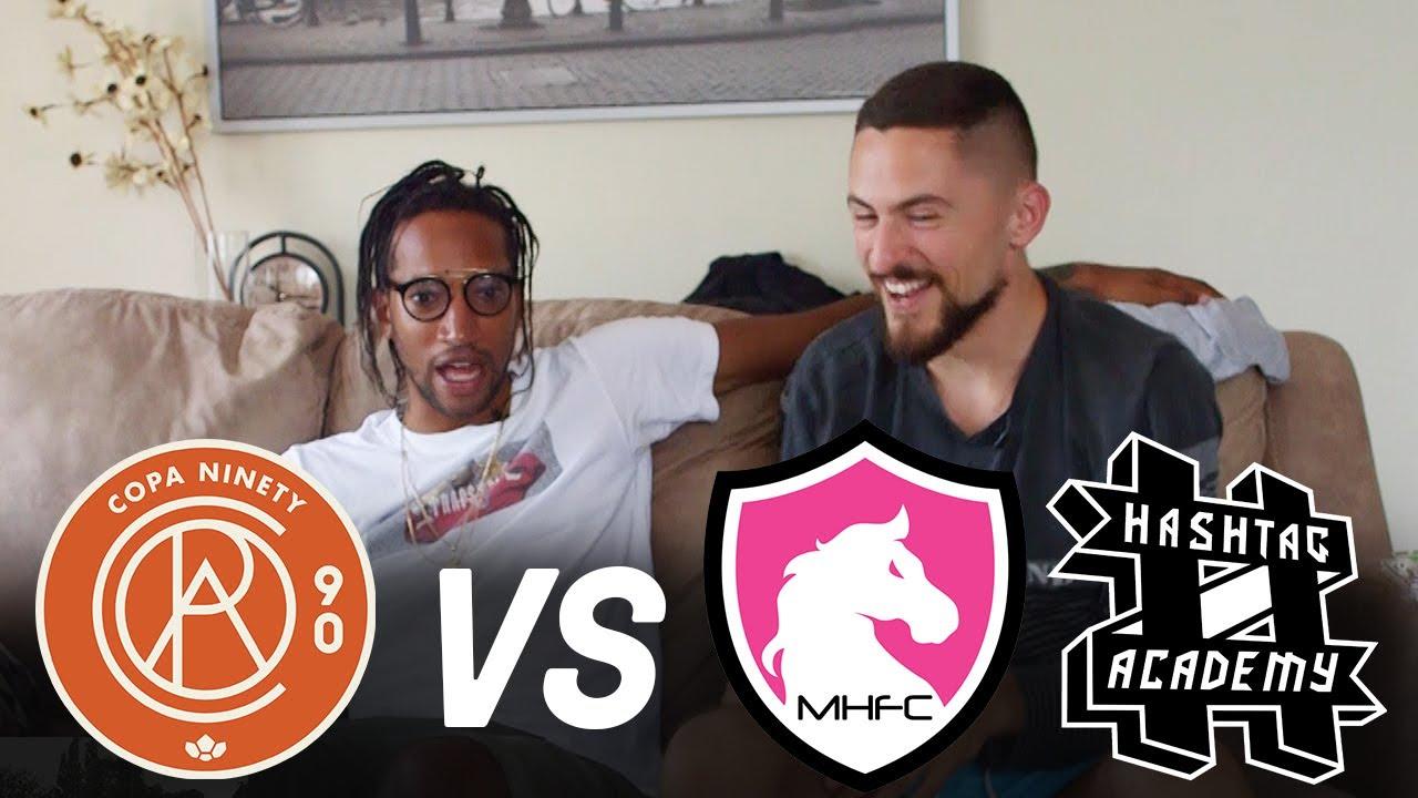 Copa90 FC vs Mongolian Horses FC & Hashtag Academy! | Next Level Football League
