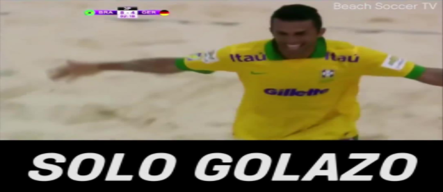 The best beach soccer solo goal you'll ever see