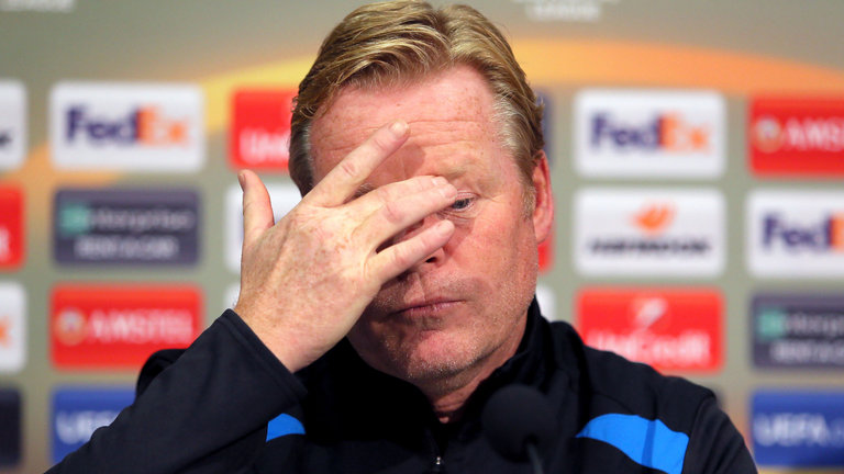 It was time to go-man for Koeman | Case Of The Mondays