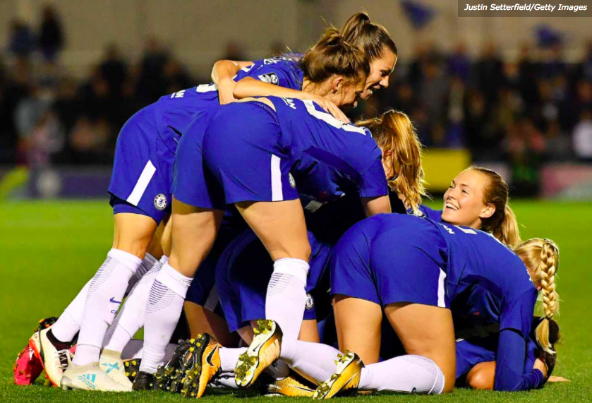 JUST TRY TO STOP THE CHELSEA LADIES