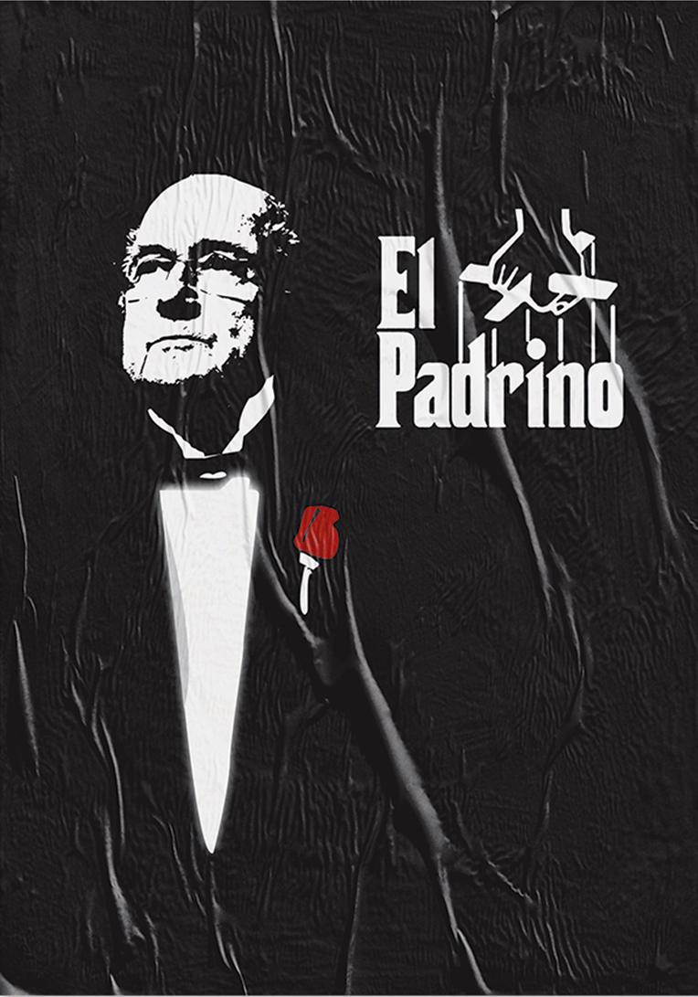 'The Godfather'. Starring Sepp Blatter.