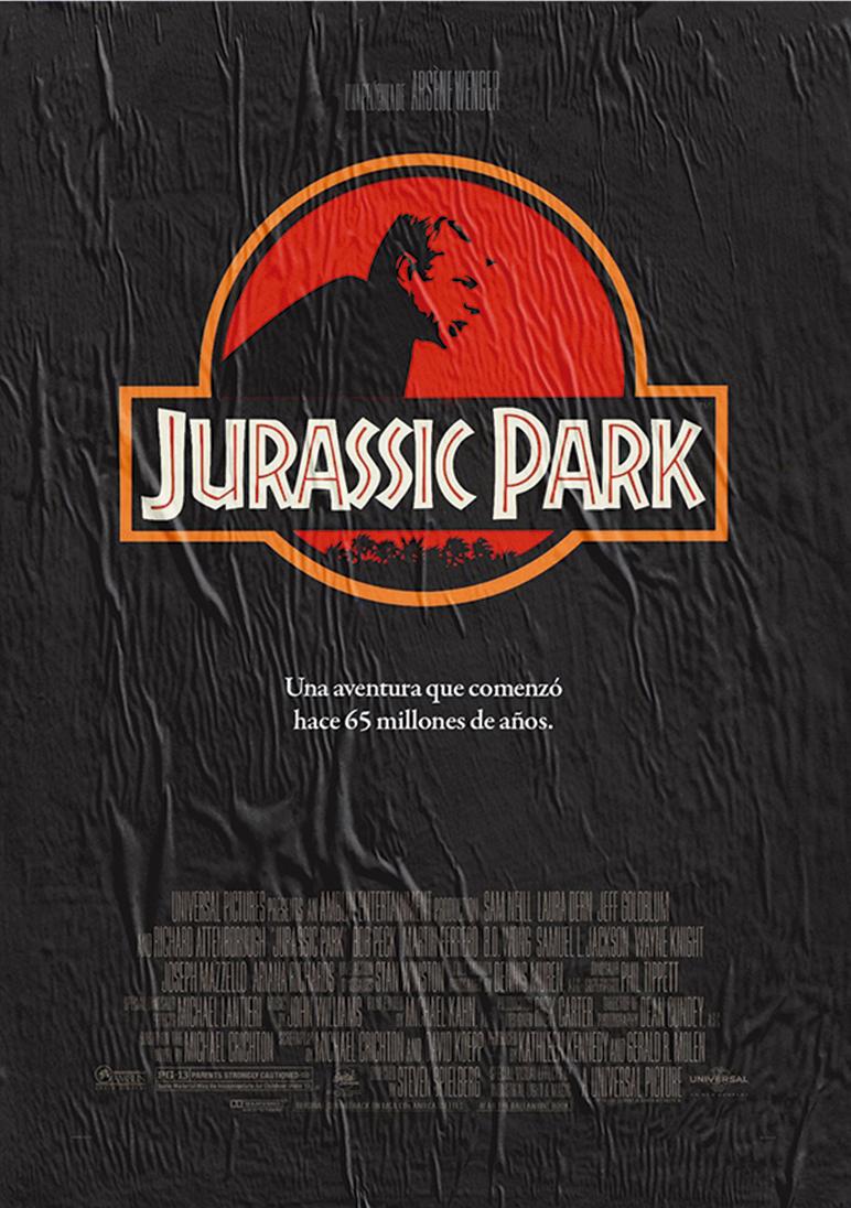 'Jurassic Park' . Starring Arsène Wenger.