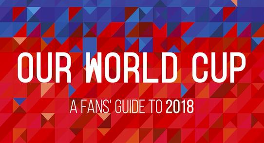 Copa90 x Penguin announce 2018 World Cup fans' guide