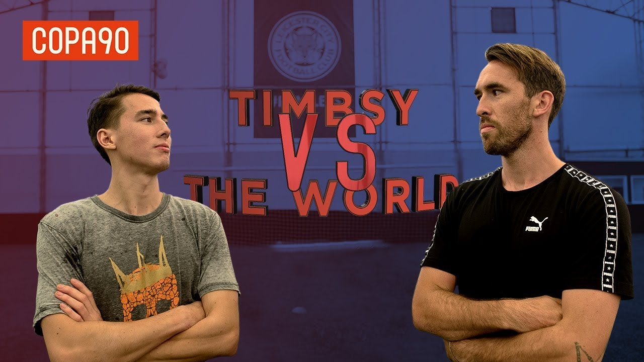 Power Challenge vs Christian Fuchs! | Timbsy vs The World