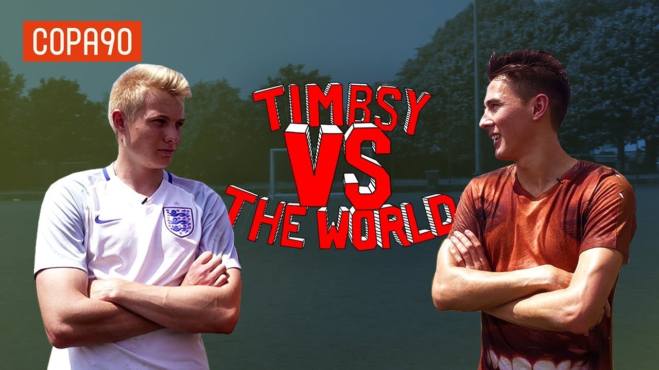 Two Foot Challenge vs Charlie Morley! | Timbsy Vs The World