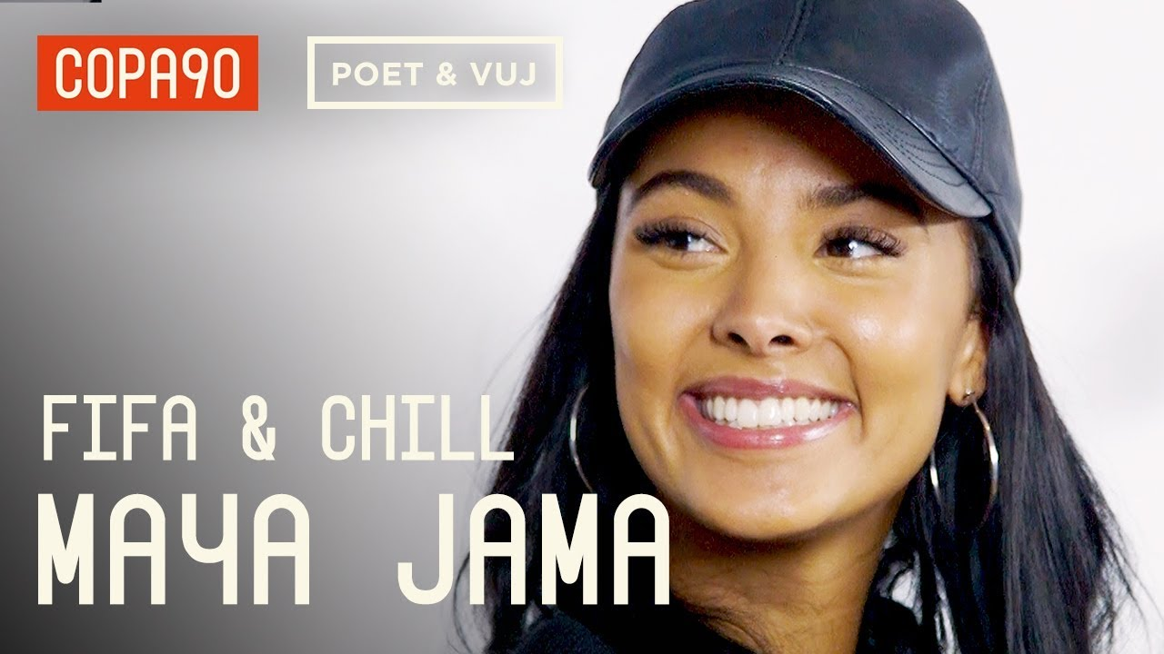 FIFA and Chill with Maya Jama | Poet and Vuj Present!