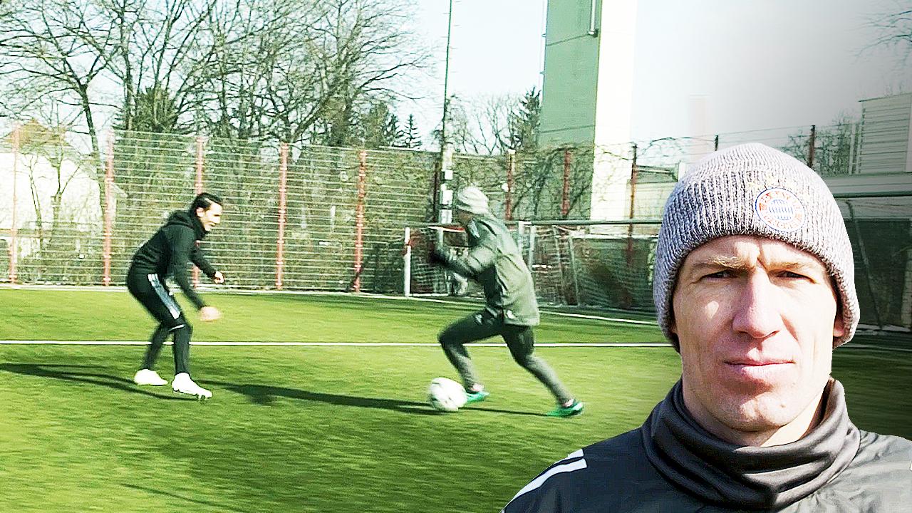 Arjen Robben Signature Move Masterclass