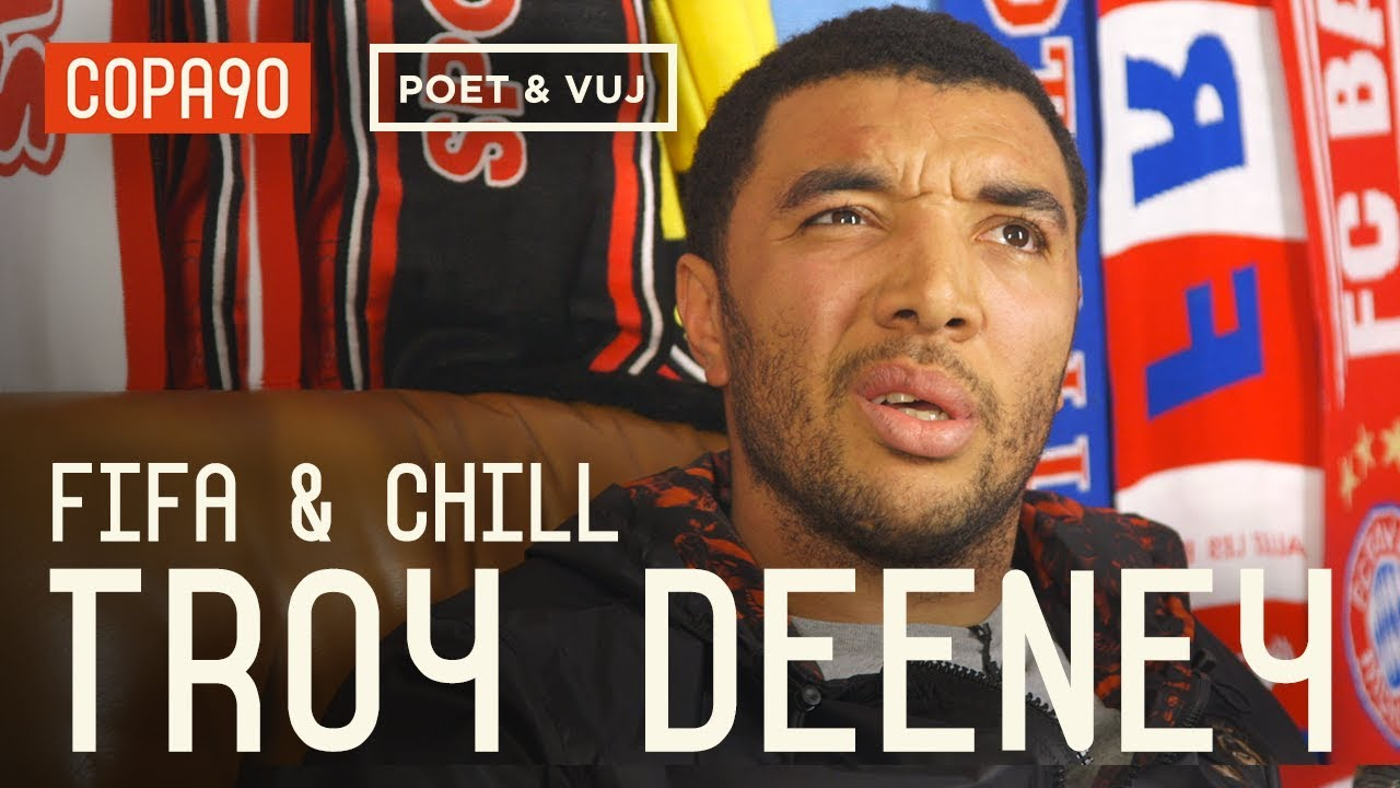 Diving, 'Cojones' & Being A Hardman - FIFA and Chill with Troy Deeney ft. Poet and Vuj