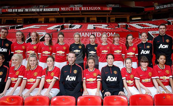 Finally, Manchester United will have a women's team