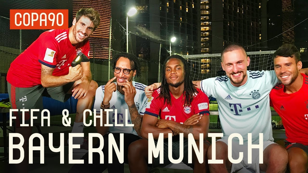 FIFA and Chill with Bayern Munich ft. Poet and Vuj