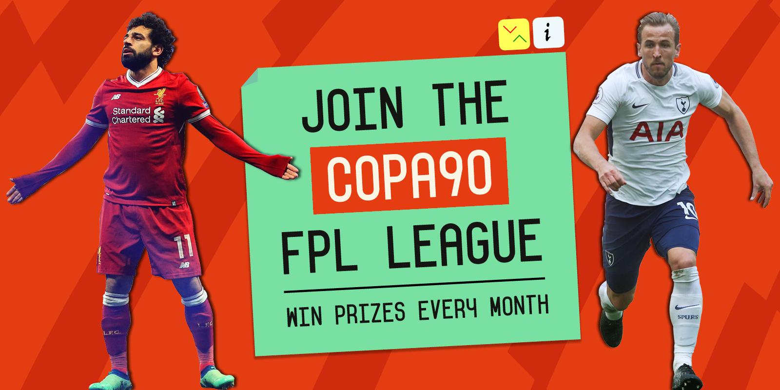 Enter the COPA90 FPL League!