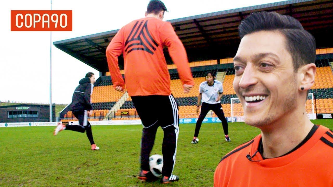 Mesut Ozil Assist Masterclass! - How To Train Like A Pro