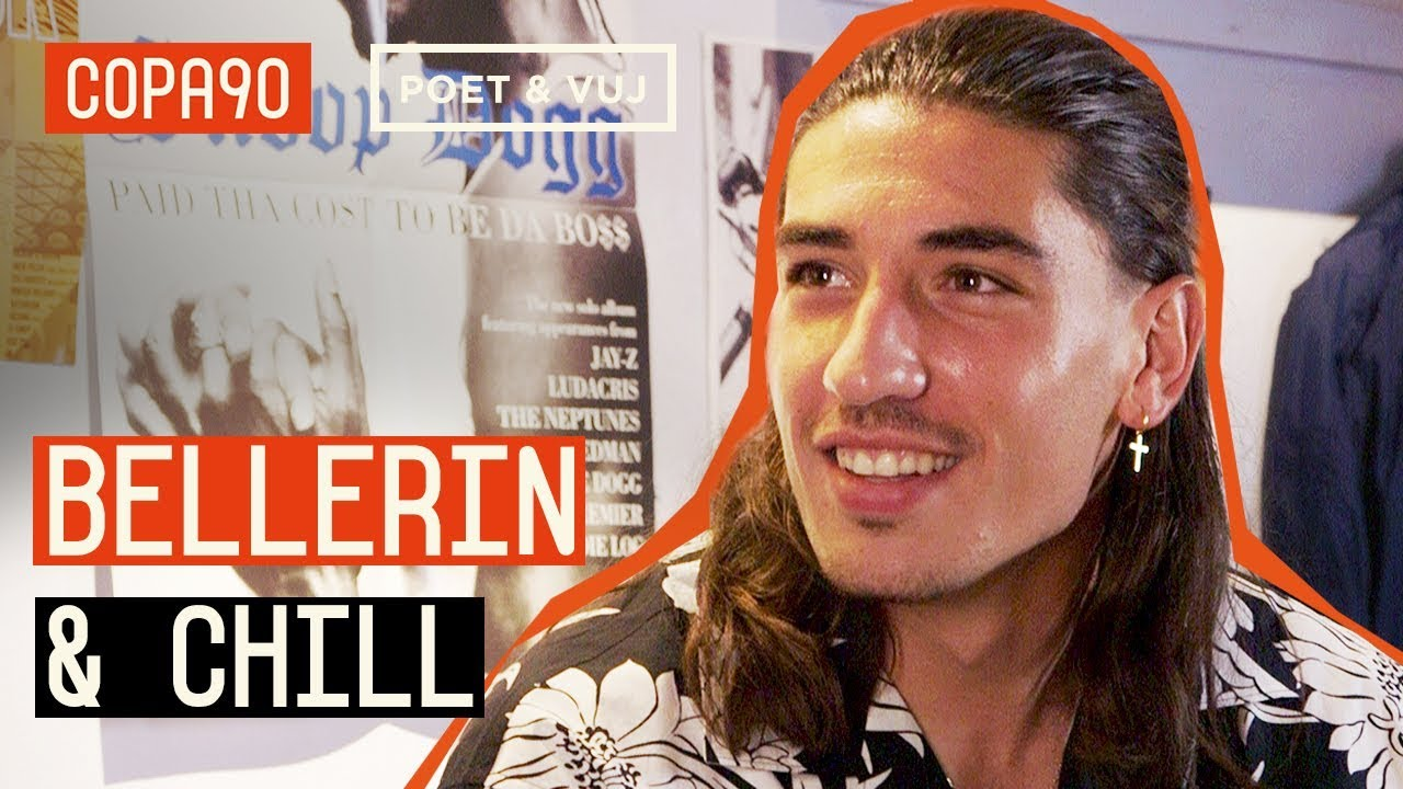 Hector Bellerin Chills with Poet and Vuj - Life under Emery, Going Vegan, Fashion & More